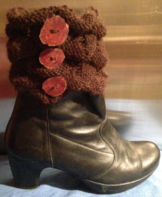 Crocodile Stitch Boot Topper