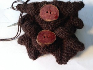 Juniper Wood Buttons