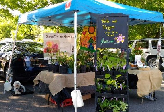 Spring Market Booth